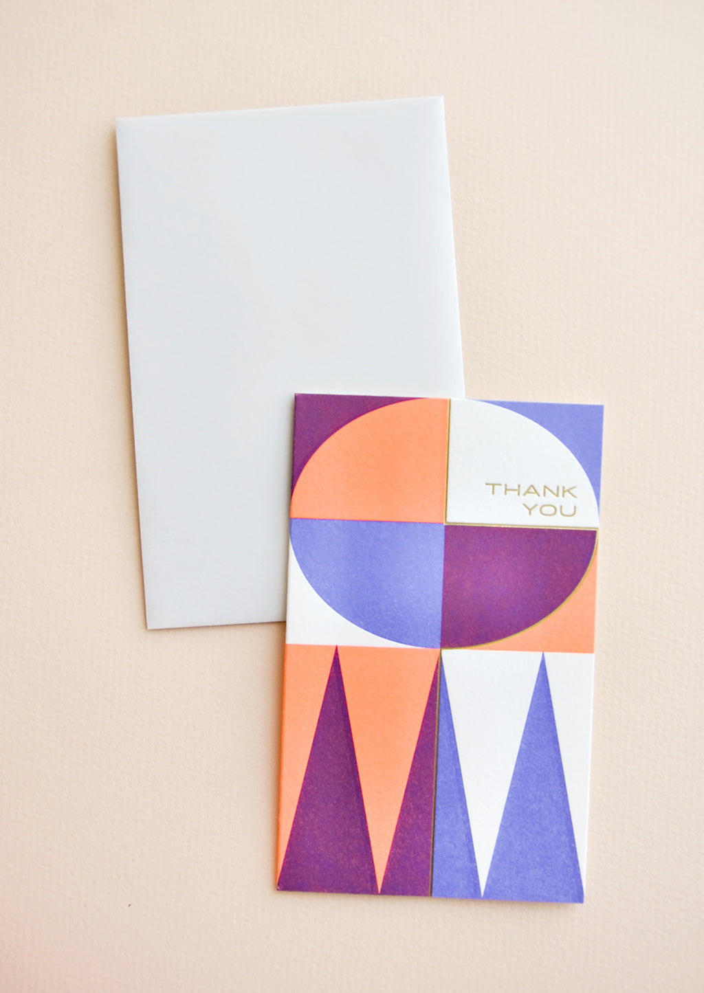 1: Midcentury Thank You Card Set in  - LEIF