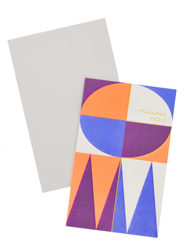 2: Midcentury Thank You Card Set in  - LEIF