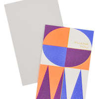 Midcentury Thank You Card Set