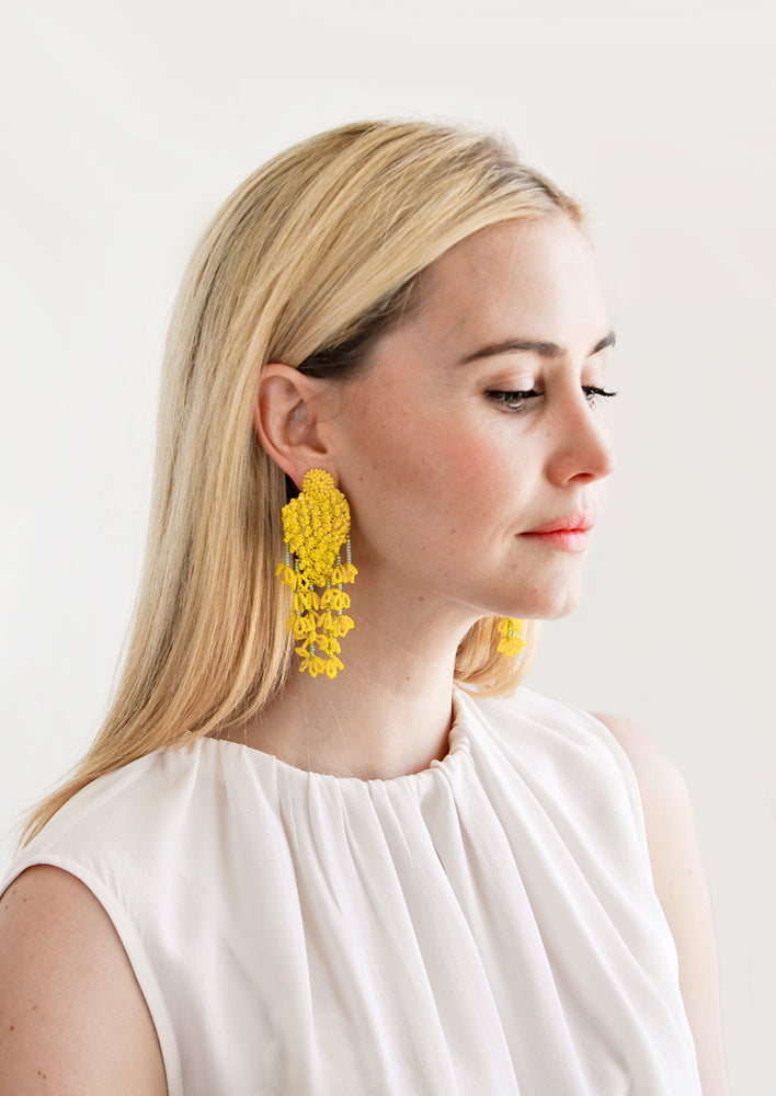 2: Mimosa Earrings in  - LEIF