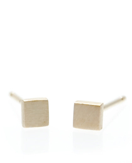 Mini Geometry Square Studs - LEIF