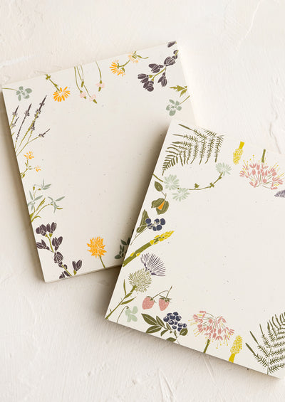 Botanical Border Mini Notepad