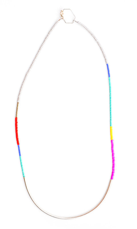 Minimalist Color Study Necklace - LEIF