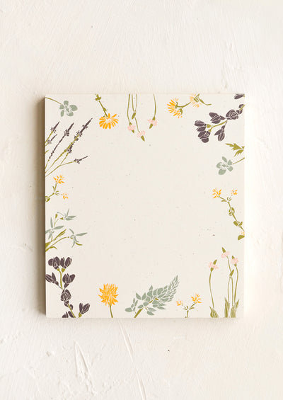 Botanical Border Mini Notepad hover