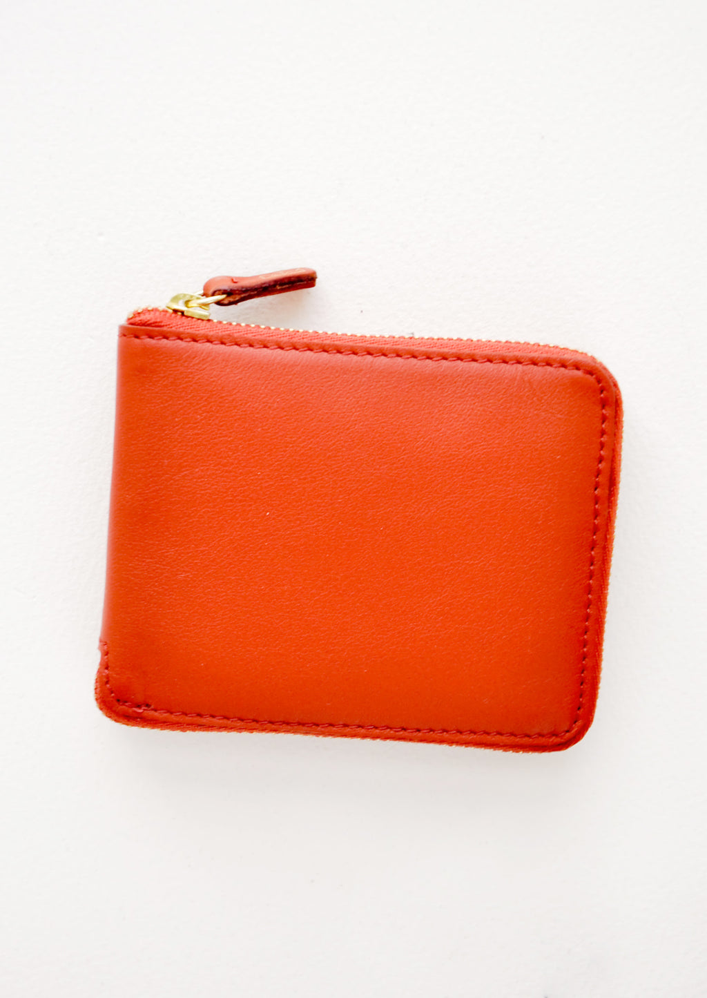 Short [$98.00] / Rust: Coupe Zip Wallet in Short [$98.00] / Rust - LEIF