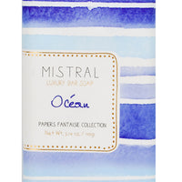 Oceane: Papier Fantaisie Bar Soap in Oceane - LEIF