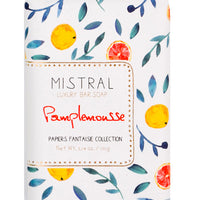 Pamplemousse: Papier Fantaisie Bar Soap in Pamplemousse - LEIF