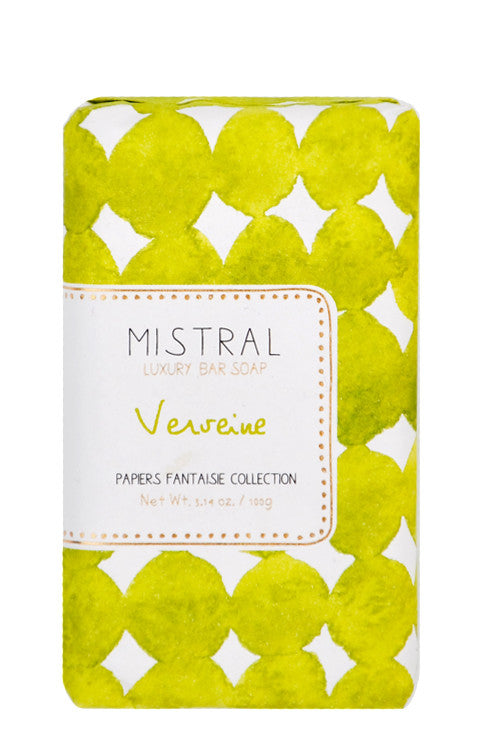 Papier Fantaisie Bar Soap in Verveine - LEIF