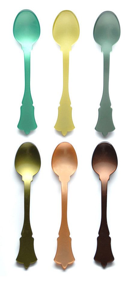 Mixed Greens Teaspoon Set - LEIF