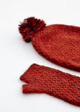 Mixed Melange Fingerless Gloves