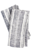 Mixed Stripe Linen Napkin Set