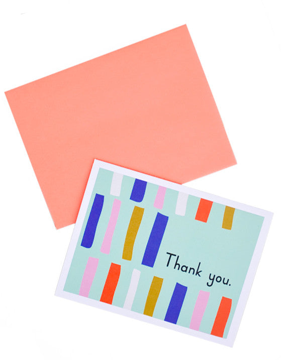 Mod Thank You Card Set - LEIF
