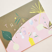 2: Modern Vases Thank You Card in  - LEIF