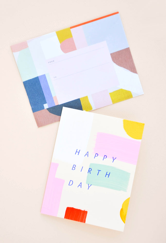 2: Colorstroke Happy Birthday Card in  - LEIF