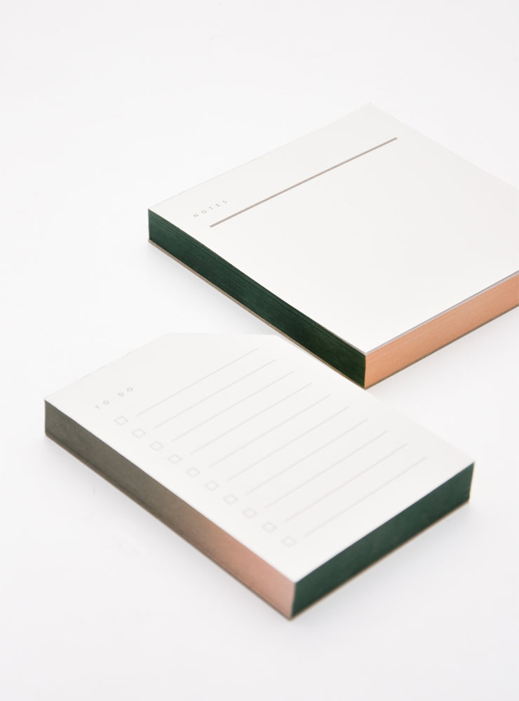 2: Painted Edge Notepad in  - LEIF