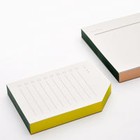 3: Painted Edge Notepad in  - LEIF