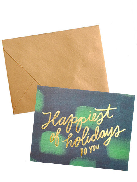Happiest Holidays Boxed Card Set - LEIF