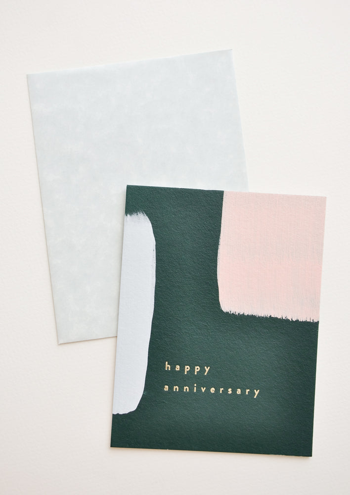 Abstract Anniversary Card in  - LEIF