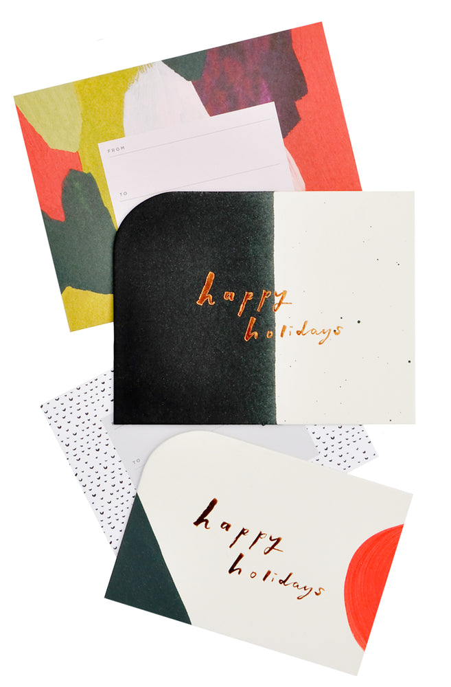 1: Mixed Shape Holiday Card Set in  - LEIF