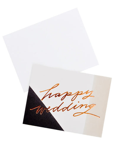 Happy Wedding Card - LEIF