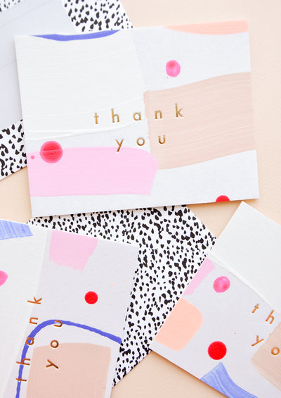 Huamei Thank You Card Set in  - LEIF