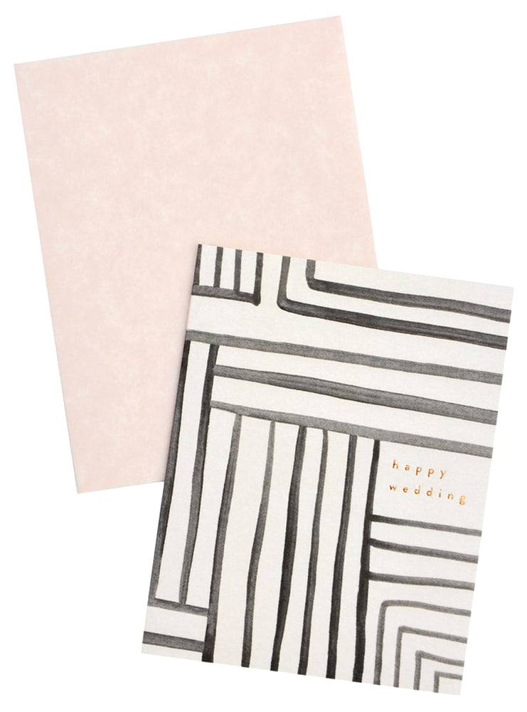 2: Mazed Lines Wedding Card in  - LEIF