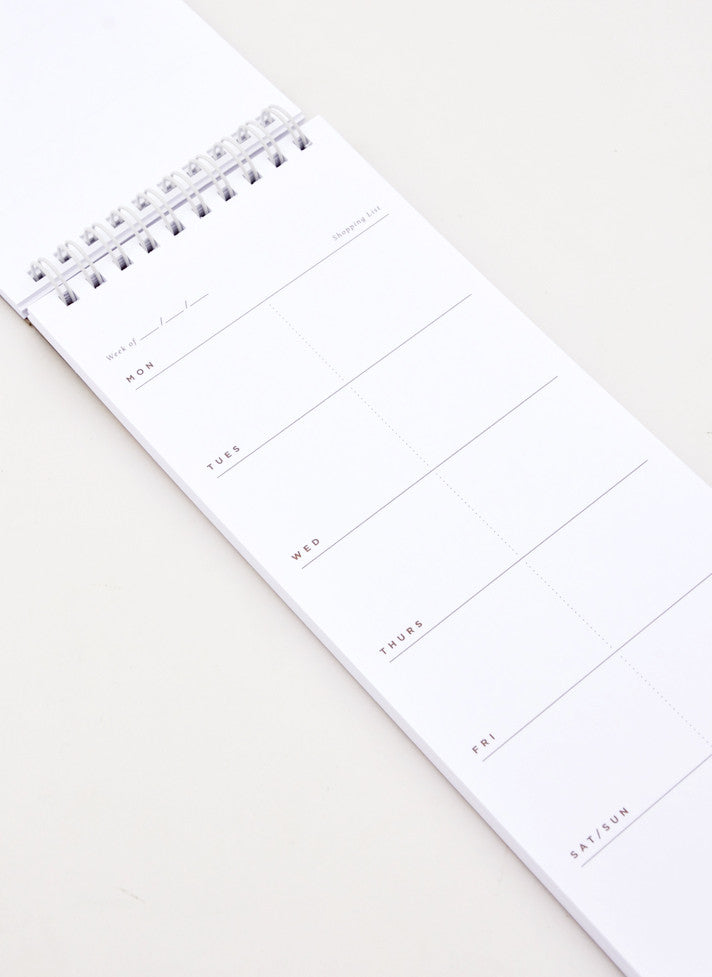 Meal Planner Notepad - LEIF