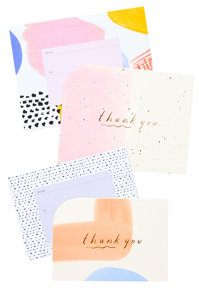 Mixed Thank You Card Set - LEIF
