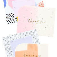 Color: Mixed Thank You Card Set in Color - LEIF