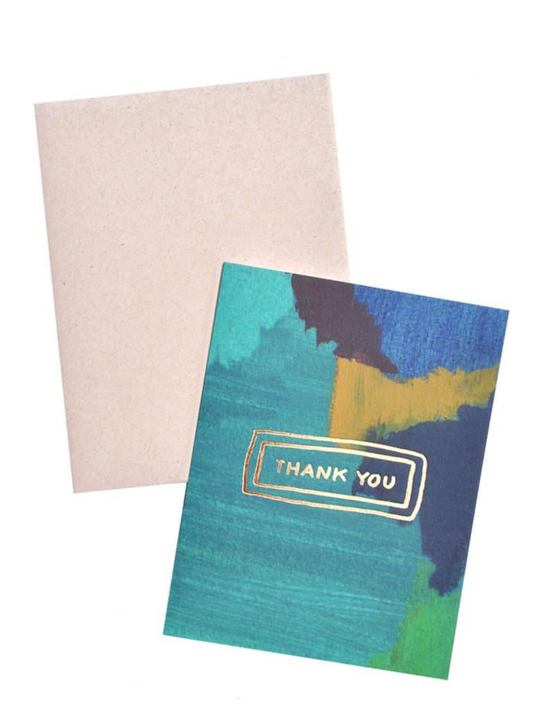 Outlined Thank You Card Set - LEIF