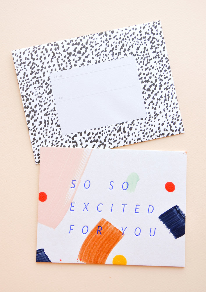 So So Excited For You Card