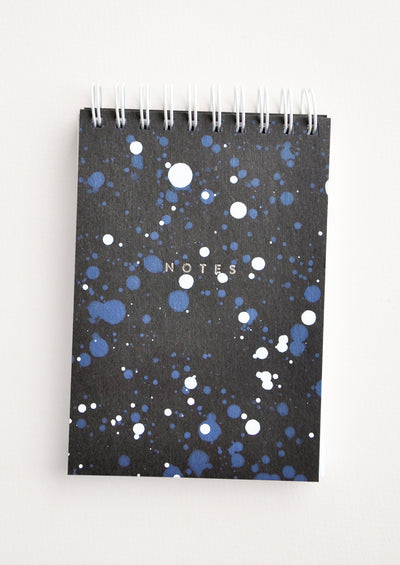 Splatters Mini Spiral Notepad