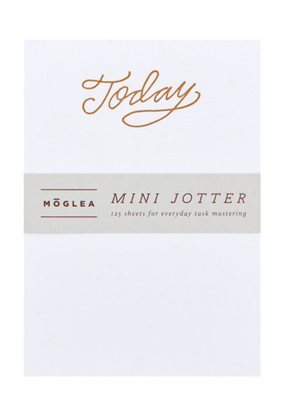 Painted Edge Mini Notepad