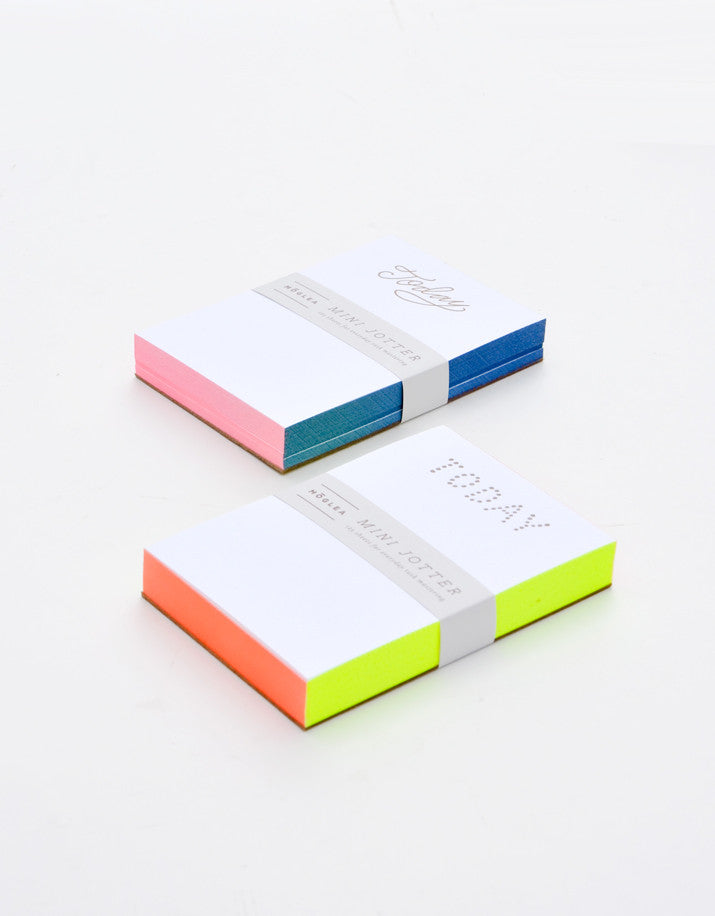 2: Painted Edge Mini Notepad in  - LEIF