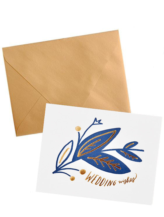 Wedding Wishes Card - LEIF