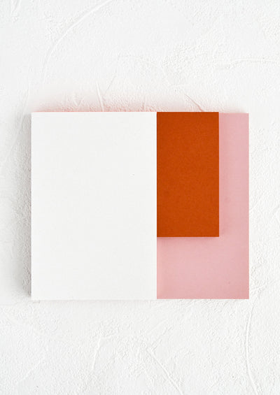 Colorblock Section Notepad