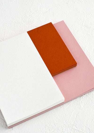 Colorblock Section Notepad hover