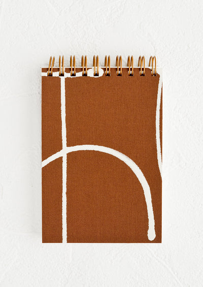 Mini Bookcloth Spiral Notepad hover