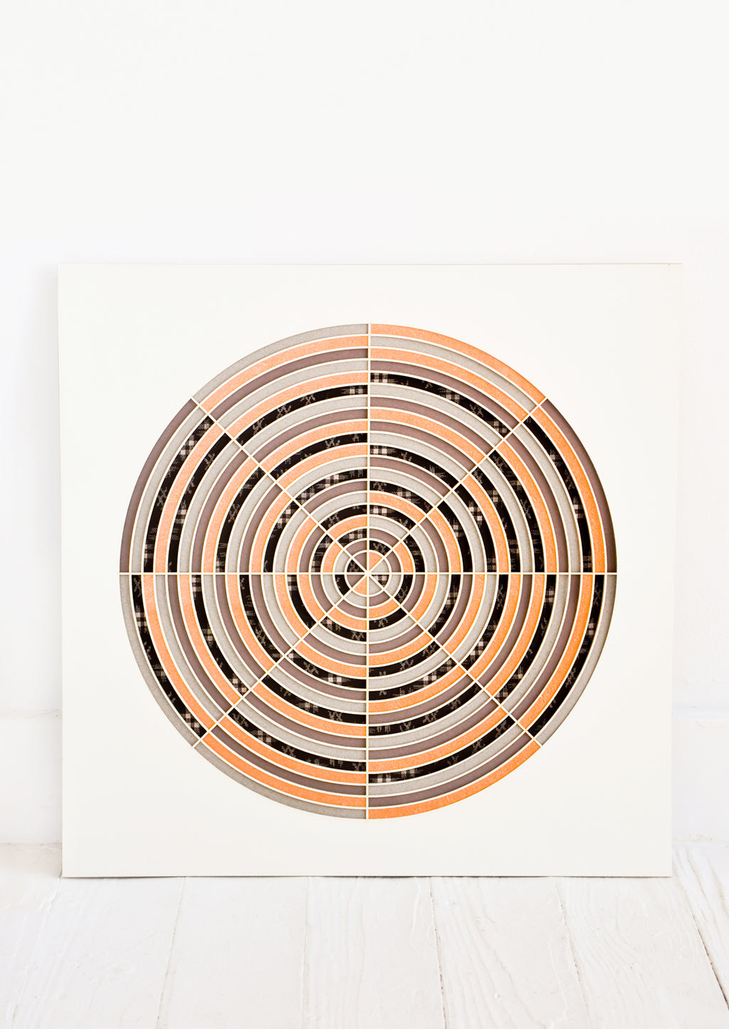 1: Bullseye Laser Cut Artwork in  - LEIF