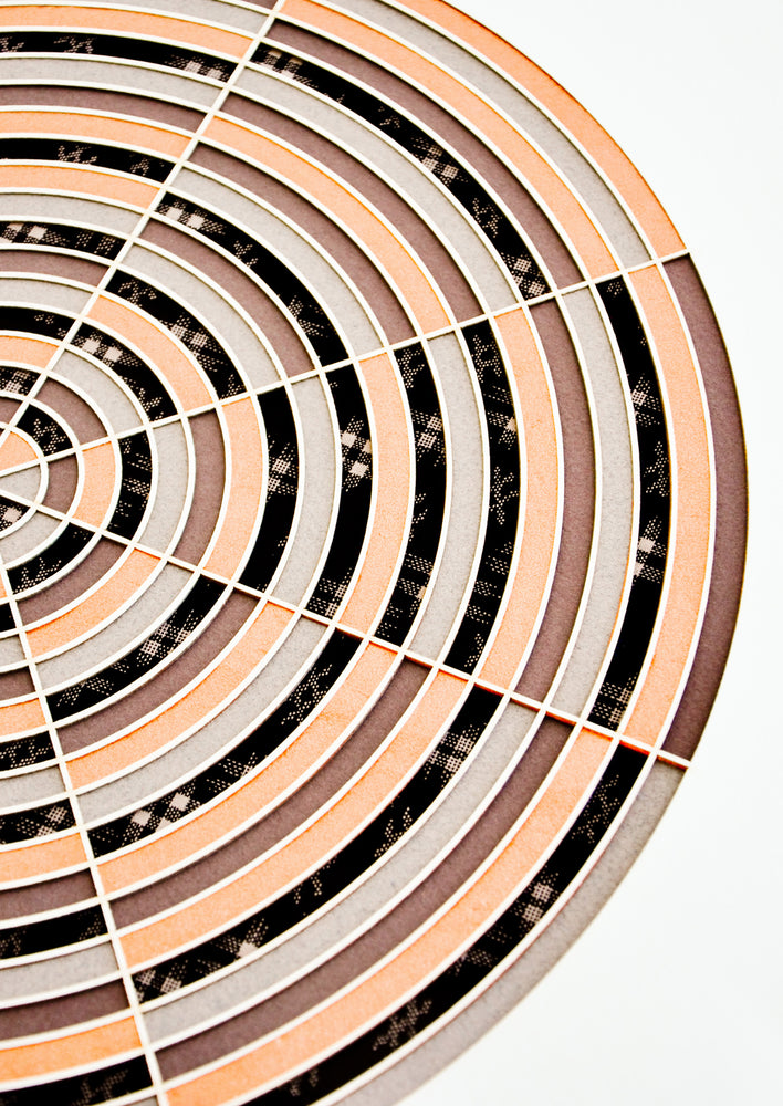 2: Bullseye Laser Cut Artwork in  - LEIF