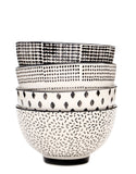 Monochrome Ceramic Bowl Set