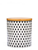 Monochrome Ceramic Storage Jar