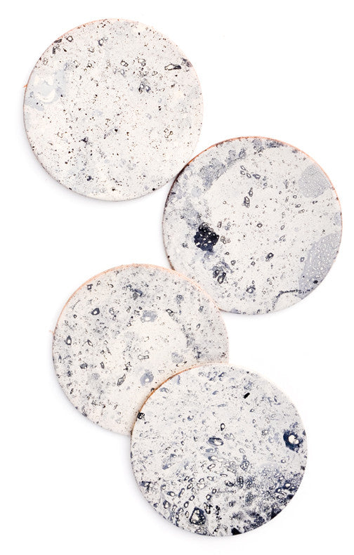 Moon Leather Coasters - LEIF