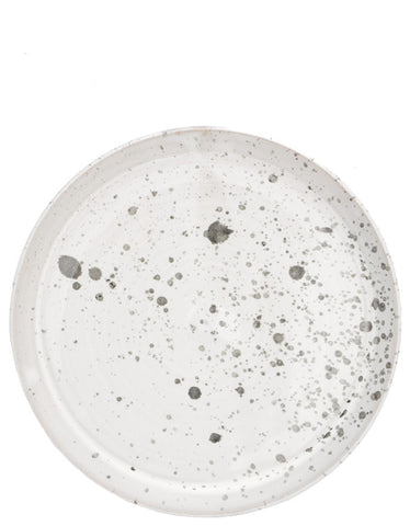 Moon Splatter Dinner Plate