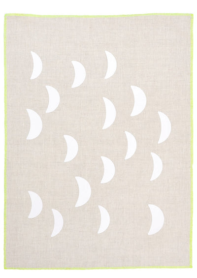 Moons Tea Towel