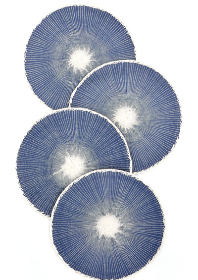 Moonglow Placemat Set in Indigo - LEIF