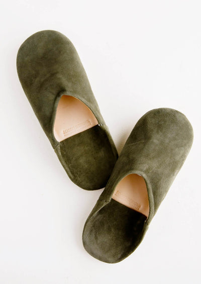 Moroccan Suede Slippers