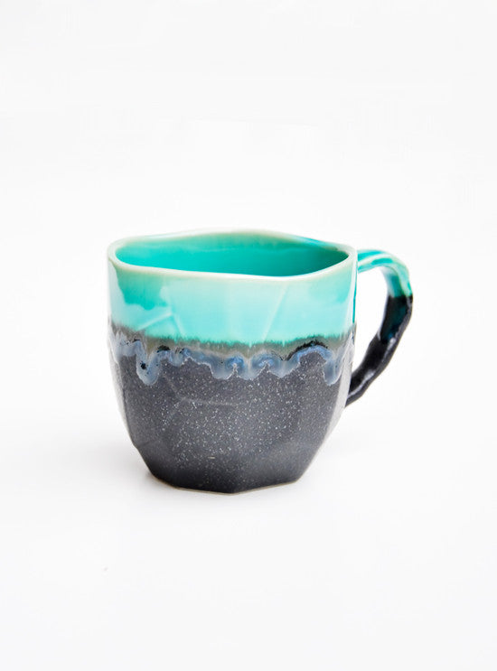 Faceted Mountain Mug