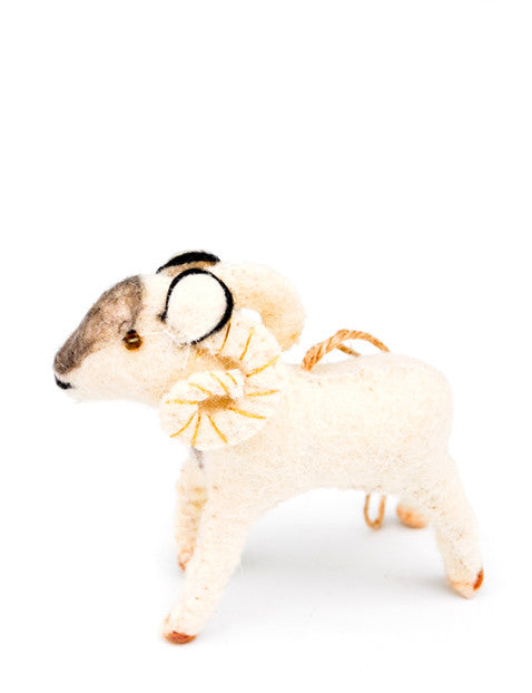 Mountaintop Ram Ornament
