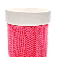 Small Knit Color Cozy Mug - LEIF
